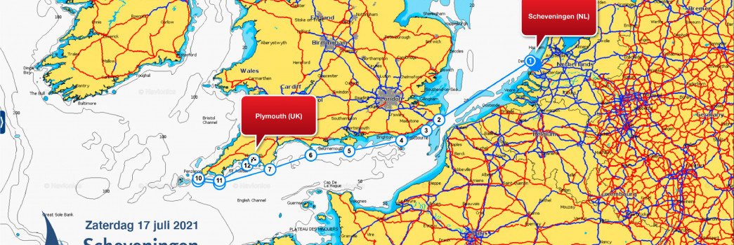 Route Plymouth